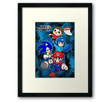 Super Smash Bros Framed Print