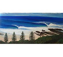 Snapper Rocks, Australia Photographic Print