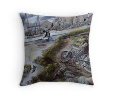 photoj  Bikers Art Throw Pillow
