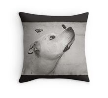 Remembering Butch Throw Pillow