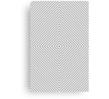 Grey Diamond Canvas Print