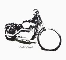 Free to Be Wild on a Harley by jade77green