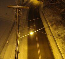 late night street light by TheOakOfMyEye