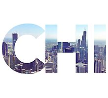 CHI Skyline Photographic Print