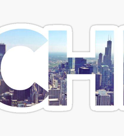 CHI Skyline Sticker
