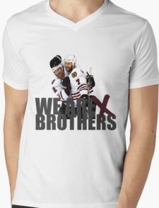 We are Brothers Mens V-Neck T-Shirt