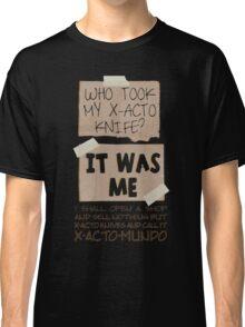 X-Acto-Mundo. Classic T-Shirt