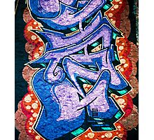 Graffiti. Street Art in Australia.4 Photographic Print