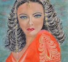 Tribute to Gene Tierney by SergioIanniello