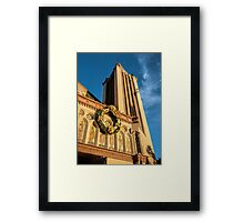 Golden afternoon Framed Print