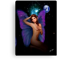 Faerie With Bedroom Eyes Canvas Print