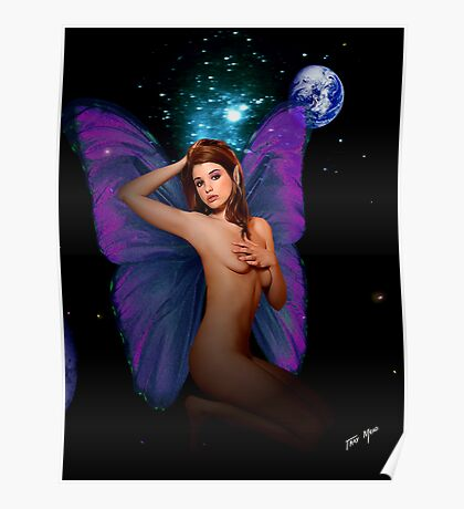 Faerie With Bedroom Eyes Poster