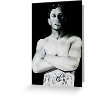 Middle-Weight Champion - 1908-1910 Greeting Card