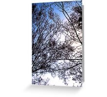 Tree Friends Touch Greeting Card