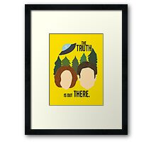 The Truth is Out There Framed Print