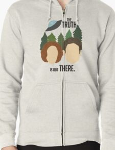 The Truth is Out There Zipped Hoodie