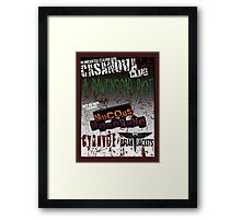 The Casanova Club Framed Print