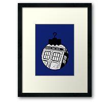Doctor Who Ornament Framed Print