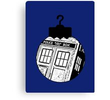 Doctor Who Ornament Canvas Print