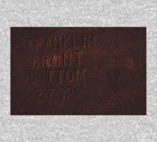 0150 - HDR Panorama - Rusty Print One Piece - Long Sleeve