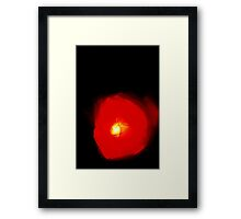 0180 - HDR Panorama - Laser Rose Framed Print