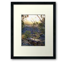 picnic location Framed Print
