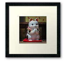 Maneki Neko #2 Framed Print