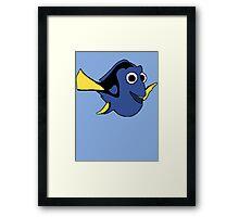 Hi I'm Dory and... Framed Print