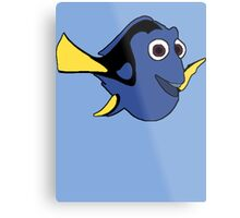 Hi I'm Dory and... Metal Print