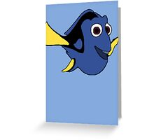 Hi I'm Dory and... Greeting Card