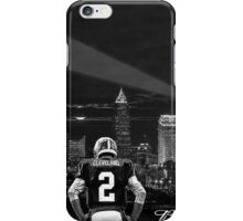 Johnny Manziel - Cleveland Skyline iPhone Case/Skin