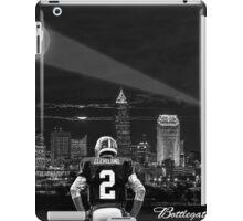 Johnny Manziel - Cleveland Skyline iPad Case/Skin