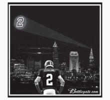 Johnny Manziel - Cleveland Skyline T-Shirt