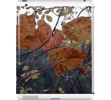 Speckled Fall Leaves iPad Case/Skin