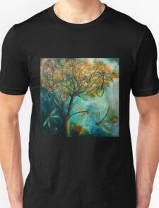 """Dragonfly Flirtation"" (Time is fleeting) Unisex T-Shirt"