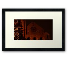0209 - HDR Panorama - Night Life 1 Framed Print