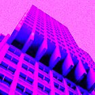 Pink Crazy Building by Cyn Piromalli
