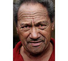 Maori elder Photographic Print