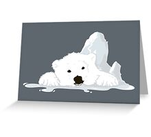 Melting Greeting Card