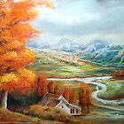Autumn Afternoon by leonard aitken