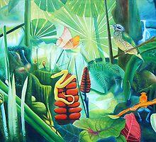 Carnival in the Jungle by leonard aitken