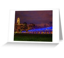 Boston Blue  Greeting Card