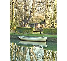 Still Waters Antique .. Photographic Print