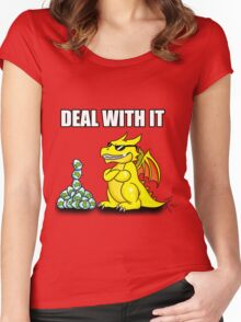 Rare Trolled Women's Fitted Scoop T-Shirt