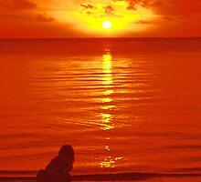 Sunset Point Aux Piments by John Brotheridge