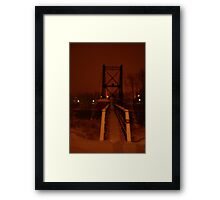 0230 - HDR Panorama - Night Life 7 Framed Print