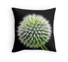 Fluffy Sphere Throw Pillow