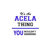 It's an ACELA thing, you wouldn't understand !! by allnames