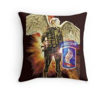 """Sky Soldier - Airborne"" Throw Pillow"