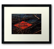 0250 - HDR Panorama - Flood 6 Framed Print